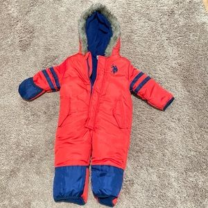 Toddler snowsuit size 18 months